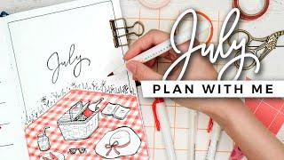 PLAN WITH ME | July 2020 Bullet Journal Setup