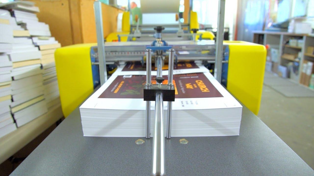 Quy trình in ấn và làm ra 1 quyển sách