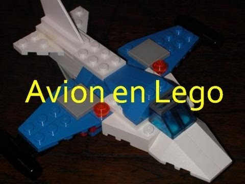Comment faire un avion en lego 2 youtube - Comment faire une ville lego city ...