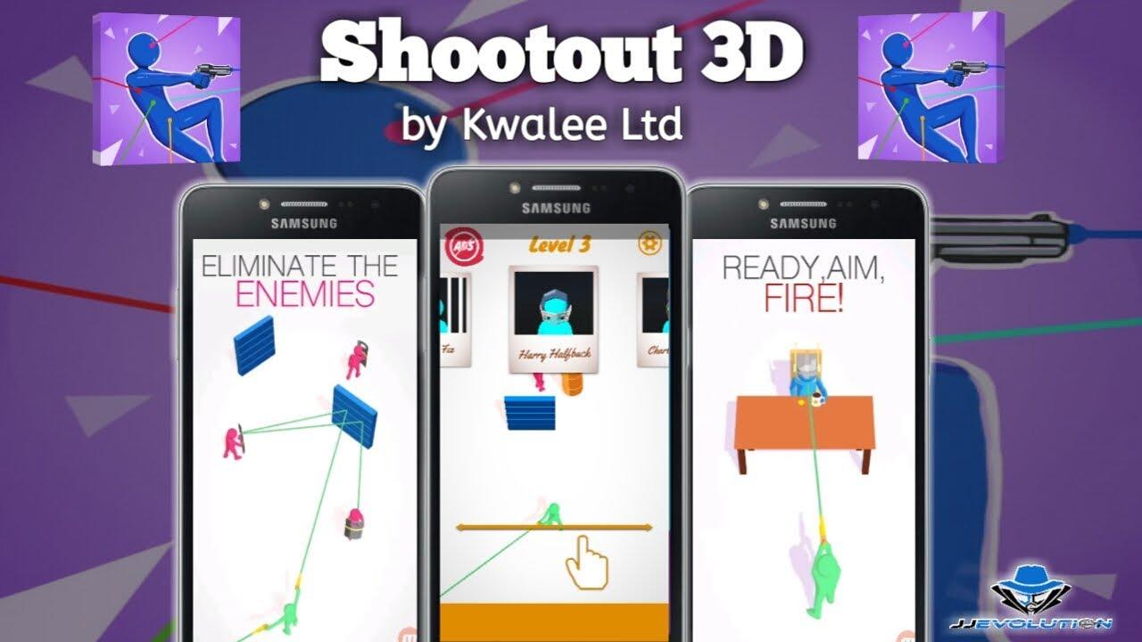Shootout 3D - Trending Mobile Game - App Review (Tagalog)
