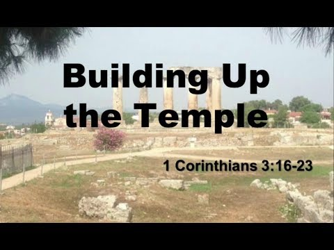 Oct 15, 2017 - Building Up The Temple