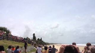 Fighter Jets Over Coolum Beach