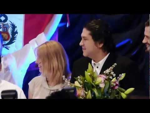 Gaston Acurio vinner Global gastronomy Award, Stockholm 2013 (1 av 2)