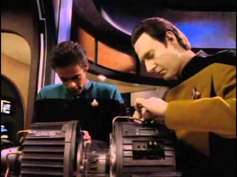 TNG Data and Bashir (Birthright)
