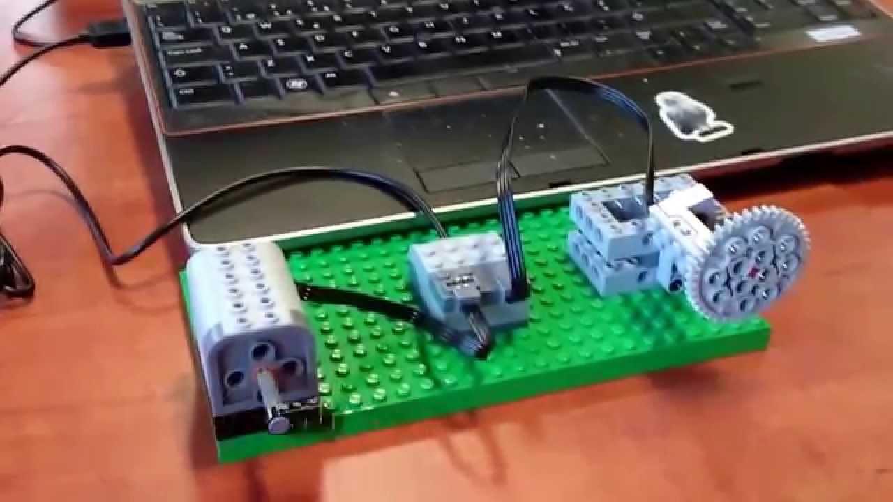 LEGO WeDO USB Hub with Linux