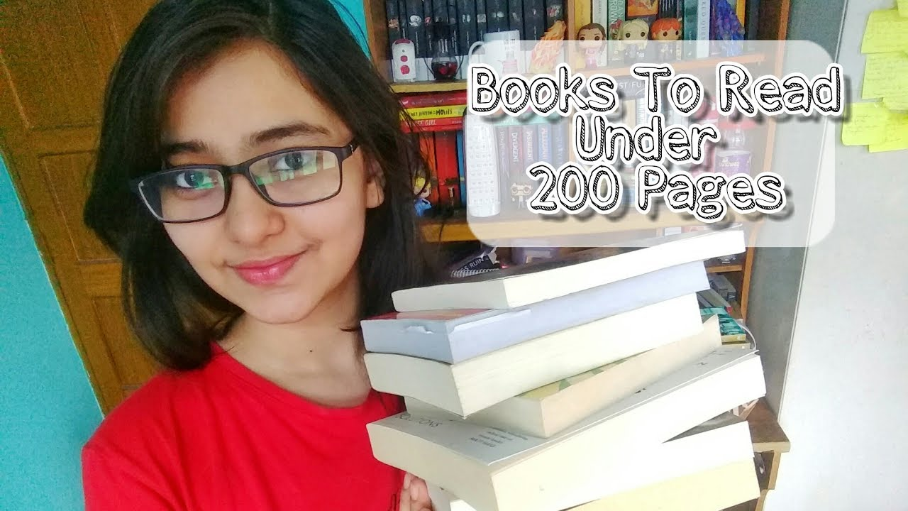 Books To Read Under 200 Pages Short And Quick Reads Books For
