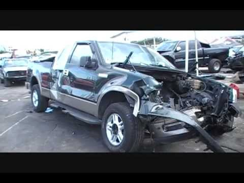 Just In Wrecked 2004 Ford F150 New Style Parts For Sale Youtube