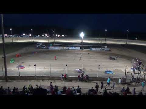 Mini Wedge Heat Race #1 at Crystal Motor Speedway, Michigan, on 09-16-2017!