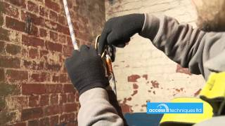 Rope access equipment an introduction. Access Techniques Ltd