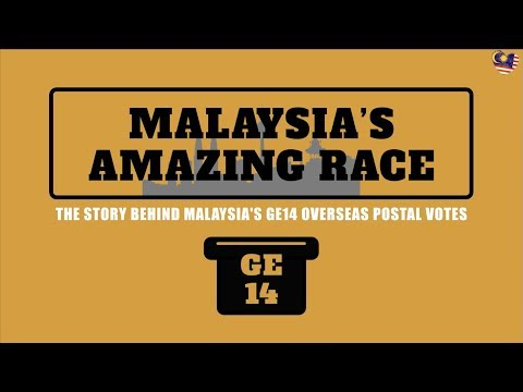 Malaysia's Amazing Race: The Impossible GE14 Mission