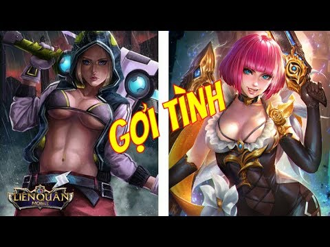 Những Vị Tướng Nữ GỢI CẢM Và QUYẾN RŨ Bậc Nhất Trong Liên Quân Mobile | VietClub Gaming