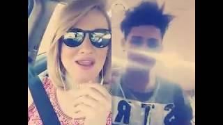 بنيه عراقيه صوتها يموت تبث مع حسين الراقي اغنيه نور الزين جيناك بهاي لاتفوتك