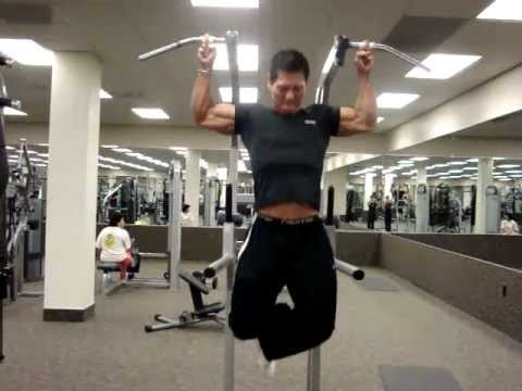 DAVID YEUNG '' Bolo jr'' - intense one finger pull up w ...