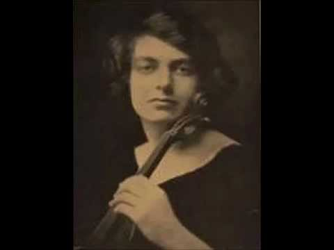 "Isolde Menges - Beethoven ""Kreutzer"" Sonata (entire) (Violin Sonata #9)"