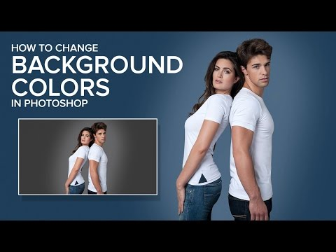 How To Change Background Color Easily in Photoshop