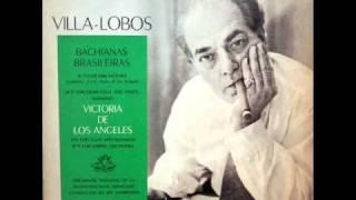 Villa-Lobos / Victoria De Los Angeles, 1958: Bachianas Brasileiras No. 5 - Aria, Dansa - Vinyl