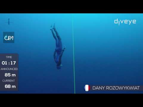 -85m Apnée Immersion Libre (dany Dan)  - Nice Abyss Contest, Freediving FIM