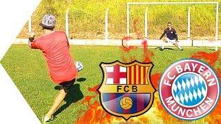 Barcelona x Bayern de Munique - DESAFIOS DE FUTEBOL