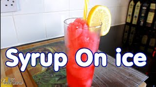 Get Ready For Summer Juice With Syrup On ice Summer Drink | Chef Ricardo Cooking