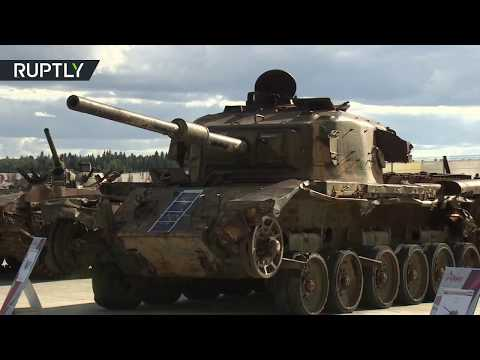 Weapons & Equipment Captured In Syria Exhibited At 'Army 2018'
