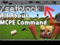 All about MCPE Command : /setblock