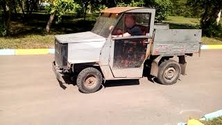 самодельный мини грузовик с двигателем от жигулей homemade mini truck hausgemachter Mini-Truck