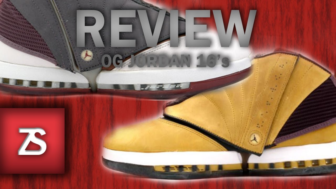 b1ad8c4d2ab0 OG Jordan 16 Cherrywood   Gingers - Ripped off on Ebay - YouTube