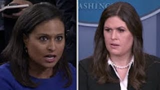 Sarah Huckabee Heated Exchange Over Donald Trump Tweet About Mika Brzezinski
