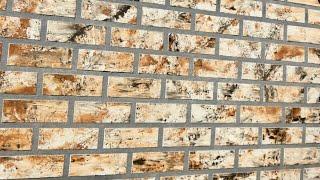 COMO HACER PARED SIMULACIÓN LADRILLO /  faux brick wall