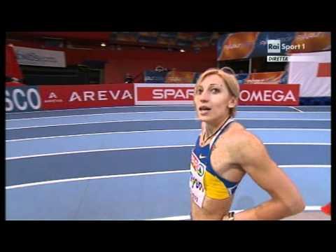 60m women semifinal 1 European Athletics Championships 2011, Paris
