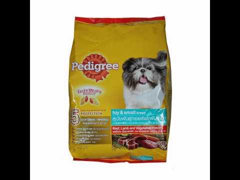 อาหารสุนัข Pedigree Toy & Small Breed Beef, Lamb & Veg 3kg