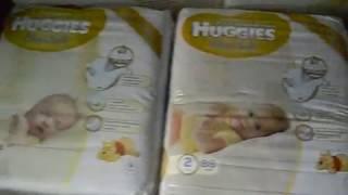 Подгузники Huggies Elite Soft.Обзор+подгузник внутри