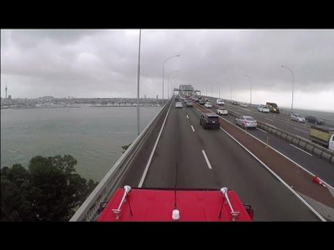 Geoffs Highway View : Northwestern and Upper Harbour motorways  Auckland