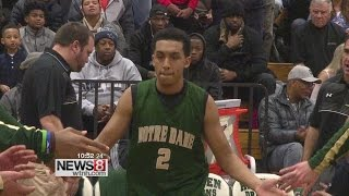 Tremont Waters scores 28, Notre Dame beats Hamden, 85-66