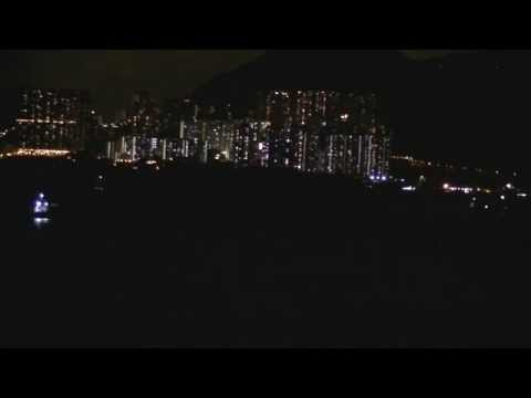 Time-lapse of Hong Kong shipping boats
