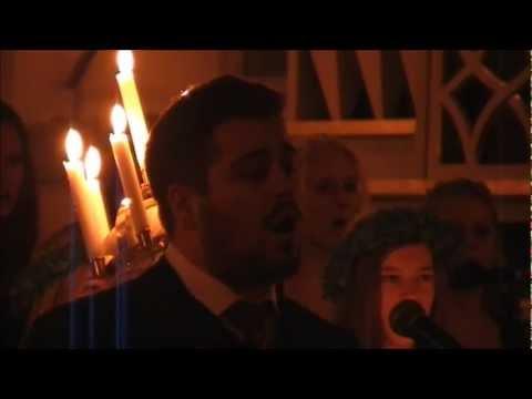 Johannes Kotschy sjunger O Helga Natt