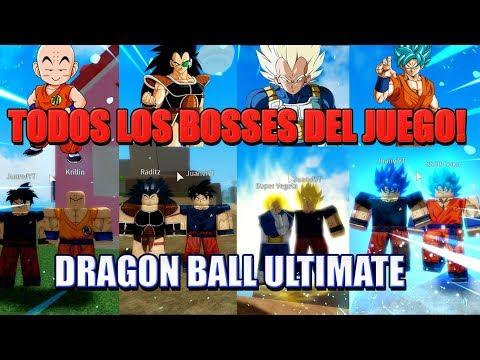 todos-los-bosses-del-juego-del-mas-debil-al-mas-fuerte-|-dragon-ball-ultimate-|-espaÑol-|-bosses