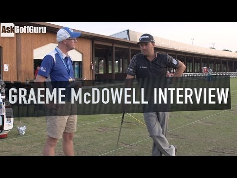 Graeme McDowell Interview Turkish Airlines Open