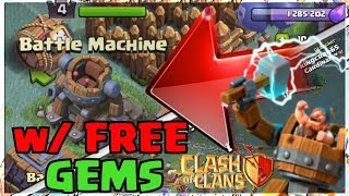 GIMME NEW BATTLE MACHINE ABILITY in Clash Of Clans | NEW UPDATE NIGHT MODE VILLAGE + Free GEMS