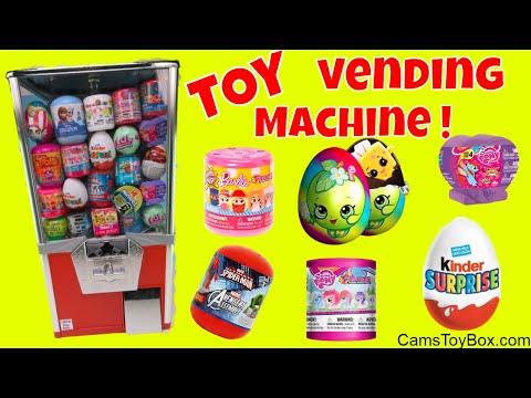 Toy Vending Machine Surprises Shopkins...