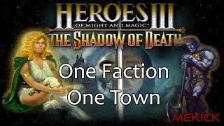 Heroes of Might and Magic III: Only One Faction & Only One Town 1v7 FFA (200%)