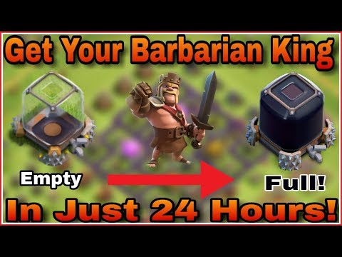 TownHall 7 DARK ELIXIR Farming For Getting BARBARIAN KING in just 24 hours! | Clash Of Clans HINDI