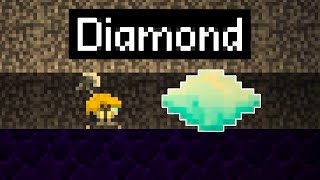 I Mined So Deep I Found Diamonds Bigger Than Me in Aground