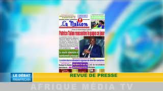 DEBAT PANAFRICAIN DU 27 MAI 2018 PARTIE 1