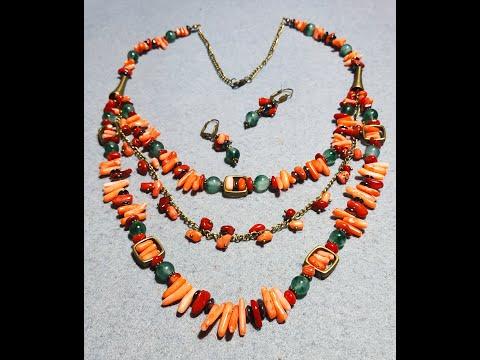 Авторские украшения из натуральных камней и браслет оберег  Чан Лу