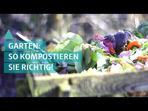 Garten: So kompostieren Sie richtig! | BAUEN & WOHNEN