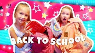 СОБИРАЕМ рюкзаки  В ШКОЛУ 2018  / BACK to SCHOOL