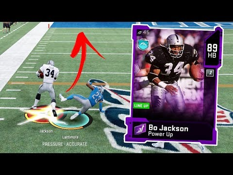 BO JACKSON TRUCKS 4 PEOPLE!! Madden 20 Gameplay