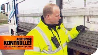 Gefahrgut-Kontrolle: Ist der LKW sicher? | Achtung Kontrolle | kabel eins