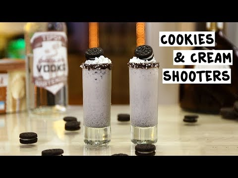 Cookies and Cream Shooters